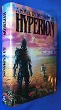 Dan Simmons - HYPERION - Doubleday 1989 - First 1st Edition US - ex-libris