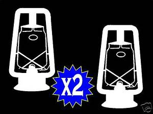 Hot Blast Tubular Lantern DECAL STICKER for Car Truck SUV VAN DIETZ H1024