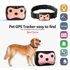 Vehicle Pet Dog Cat Kid Collar Safety Locator GPS Location Tracker GSM Finder BT
