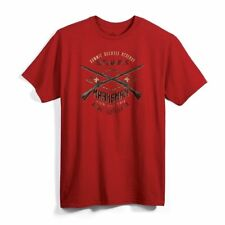 BOY SCOUT 2017 JAMBOREE MARKSMEN THE BARRELS PISTOL RIFLE CLAY T-SHIRT MENS 2XL