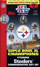 2006 Pittsburgh Steelers Super Bowl XL Topps Commemorative Gift Team Set