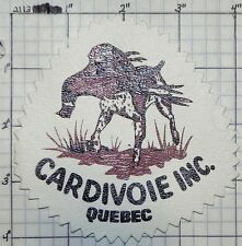 CANADA, CARDIVOIE INC. QUEBEC PATCH