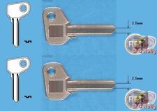 2 x 3.5mm FIAT ALFA DETOMASO FERRARI IVECO MOTO GUZZI X1/9 CHIAVE