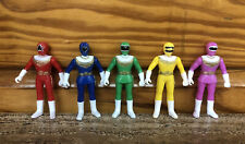 "Power Rangers KO Bootleg Knockoff 4.5"" Loose Action Figures Rare"