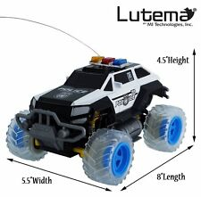 Electric Mini Police SUV RC Radio Remote Control Car Truck Child Kid Road Toy