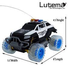 Electric Mini Police SUV RC Radio Remote Control Car Truck Child Kid Road Toy