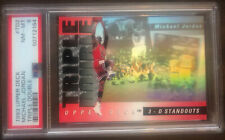 1993 Upper Deck #TD2 ~ Michael Jordan Triple Double ~ PSA 8 Holo 3d Nba Goat Chi