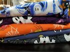 Halloween Holiday Various Print Scrub Tops Only Lot of Five Size Medium Spooky