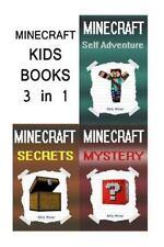 Minecraft Kids Books: 3 Minecraft Books for Kids in 1
