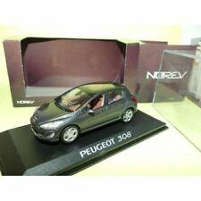 NOREV Peugeot 308 5 Portes 1:43 Voiture Miniature Gris Foncé (473800)