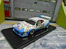 BMW M1 E26 24h Le Mans 1980 #83 antar BMW France Pironi Quester Mign Spark 1:43