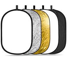 """Neewer 5-in-1 Oval 31""""x47"""" Professional Collapsible Multi-Disc Light Reflector"""