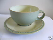 DENBY - CALM - 1 X CUP AND SAUCER - VERY GOOD USED CONDITION*j