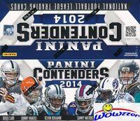 2014 Panini Contenders Football MASSIVE Factory Sealed 24 Pack Retail Box- RARE!