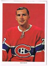 1963-65 Chex Photo Hockey Card Dave Balon