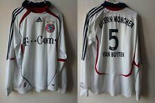 BAYERN MUNCHEN FC 2006/2007 AWAY FOOTBALL SHIRT JERSEY VAN BAYTEN 5