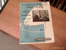 arr Jerry Burke: Favorite Songs and Dances for organ (Chart)