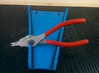 """#ah555  Snap On Tools 7-7/16"""" Fixed Tip Convertible Snap Ring Pliers SRPC7000"""