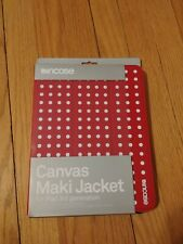 Incase iPad 3 Canvas Maki Jacket Polka Dot Red/White - New