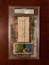 2015 Historic Autographs T206 1909-1912 Lena Blackburne 2/3 Psa/Dna Certified
