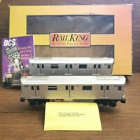 MTH 30-2797-3 Metro 6 Train Lexington AVE Local 2-Car R142A Subway Set Non Power