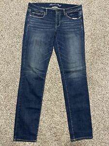 AE AMERICAN EAGLE OUTFITTERS SKINNY SUPER STRETCH WOMENS JEANS SIZE 12 L