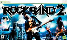 NEW Xbox 360 Rock Band 2 Special Edition Bundle Kit Guitar Drums Game Mic