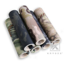 KRYDEX Camouflage Sticker Tactical Army Camo Elastic Cloth DIY Camouflage Decal