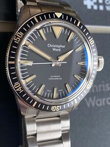 Christopher Ward C65 Dartmouth Black Automatic Chronometer. UNWORN. 41mm.