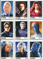 X Men 3 The Final Stand Complete Art & Images Chase Card Set ART1-9