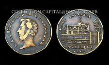 Jeton Duc d'Orléans, souvenir 13 Juillet 1843. Bronze
