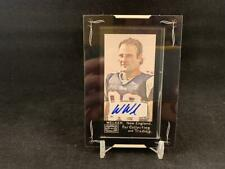 2008 TOPPS MAYO WES WELKER MINI FRAMED AUTOGRAPH NEW ENGLAND PATRIOTS