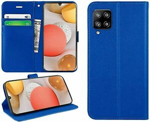 For Samsung Galaxy A12 Case Leather Wallet Book Flip Stand Cover for A12 Phone