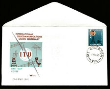 1965 CENTENARY TELECOMS UNION PRE-DECIMAL STAMP ROYAL FIRST DAY COVER #65.7