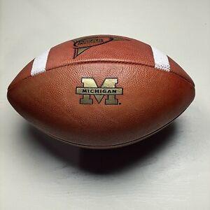 2005 Michigan Wolverines Game Ball Wilson 1001 NCAA Football University Big Ten