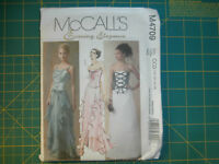 McCall's 4709 Size 10 - 16 Misses' Lined Tops Lined and Unlined Skirts Formal