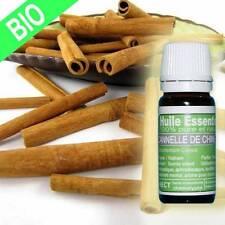 Huile essentielle Cannelle de Chine Bio 10 ml pure et naturelle certifiée HECT