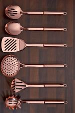 6 Piece Copper Plated Kitchen Utensil Tool Set Gift masher