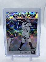 2021 Panini Donruss Baseball Dominators Babe Ruth #DOM3