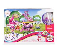 Popples Deluxe Treehouse Playset w/ Exclusive Sunny Pop Up Figure NEW Netflix