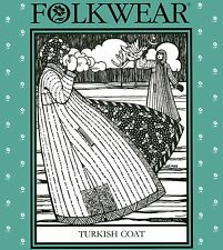 Folkwear #106 Turkish Coat - Boot-length, Reversible, Quilted Sewing Pattern S-L