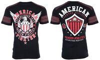 AMERICAN FIGHTER Mens T-Shirt EXCELSIOR Eagle BLACK Athletic Biker Gym $40