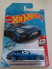 HOT WHEELS Porsche Panamera Turbo S E-Hybrid Sport Turismo -Blue #3/5