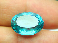 9.20  cts Neon Green Paraiba Oval 12.8 x 10 mm - 1p