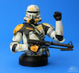 Star Wars Gentle Giant AirborneTrooper Bust  #2422/3000   Clone Trooper 2008 Exc