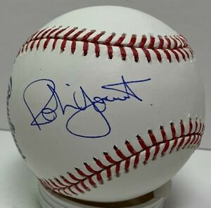 Brewers ROBIN YOUNT & PAUL MOLITOR Dual Signed Official MLB Baseball AUTO - JSA