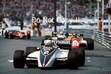 Riccardo Patrese Brabham BT49D Winner Monaco Grand Prix 1982 Photograph 2