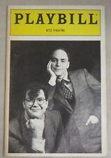 Penn and Teller Playbill March 1988 Ritz Theater