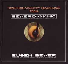 Beyer Dynamic DT-301, DT-302 Headphones Brochure