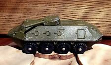 VINTAGE 1970's USSR DIECAST METAL TOY model 1/90 BTR - 60 USSR #1
